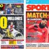 2018年11月28日(水)のバルセロナスポーツ紙:グループ首位を決めるぞ