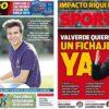 2018年12月07日(金)のバルセロナスポーツ紙:リキ・プッチとセントラル補強