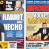 2018年12月19日(水)のバルセロナスポーツ紙:メッシ、5個目の黄金ブーツ