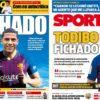 2019年1月09日(水)のバルセロナスポーツ紙:トディボ獲得