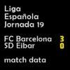 マッチレポート|リーガ第19節 バルサ 3-0 エイバル