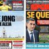 2019年1月17日(木)のバルセロナスポーツ紙:コパは脇役