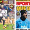 2019年2月06日(水)のバルセロナスポーツ紙:さあコパ・クラシコ第一幕