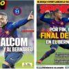 2019年2月07日(木)のバルセロナスポーツ紙:マルコム弾、決着はベルナベウへ