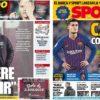 2019年2月08日(金)のバルセロナスポーツ紙:コウチーニョとバルベルデ