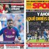 2019年2月14日(木)のバルセロナスポーツ紙:VARがマドリーを救う