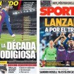 2019年3月01日(金)のバルセロナスポーツ紙:コパクラシコ勝利で意気上がる