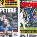 2019年3月04日(月)のバルセロナスポーツ紙:クラシコ連勝でほくほくの週明け