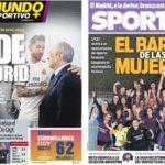 2019年3月08日(金)のバルセロナスポーツ紙:ラモスとペレスが口論