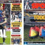 2019年3月13日(水)のバルセロナスポーツ紙:さあ、リヨン戦だ