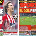 2019年3月19日(火)のバルセロナスポーツ紙:メッシはすごい
