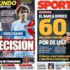 2019年3月20日(水)のバルセロナスポーツ紙:デ・リフトと前線補強