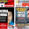 2019年3月29日(金)のバルセロナスポーツ紙:デルビとコウチーニョ