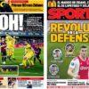 2019年4月04日(火)のバルセロナスポーツ紙:FKの匠メッシとCB再編