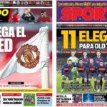 2019年4月09日(火)のバルセロナスポーツ紙:ユナイテッド戦まであと1日