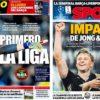 2019年4月19日(金)のバルセロナスポーツ紙:イースター前の金曜日
