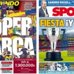 2019年4月26日(金)のバルセロナスポーツ紙:すばらしき週末の予感