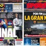 2019年5月01日(水)のバルセロナスポーツ紙:さあリバポー戦