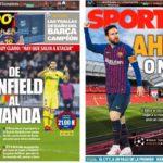 2019年5月07日(火)のバルセロナスポーツ紙:いざ、アンフィールド決戦!