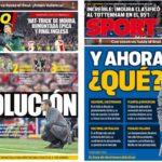 2019年5月09日(木)のバルセロナスポーツ紙:大失敗が起こす変革