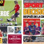2019年5月10日(金)のバルセロナスポーツ紙:関心は夏の補強に