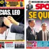 2019年5月17日(金)のバルセロナスポーツ紙:レオに勲章、バルベルデは続投