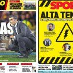 2019年5月27日(月)のバルセロナスポーツ紙:ざわつくバルサ