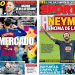 2019年5月30日(木)のバルセロナスポーツ紙:ネイマールは戻りたい
