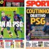 2019年6月03日(月)のバルセロナスポーツ紙:PSGがコウチーニョを欲す