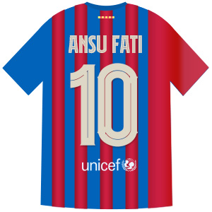10番 アンス・ファティ