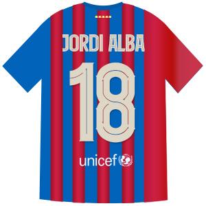 18番 ジョルディ・アルバ