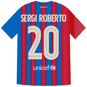20番 セルジ・ロベルト